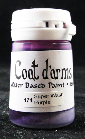 Coat D'arms Acrylic Paint Super Wash Purple 174