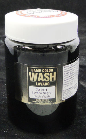 Vallejo Game Color Wash- Black Wash