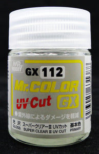 Mr. Hobby Mr. Color GX Super Clear III UV Cut Gloss