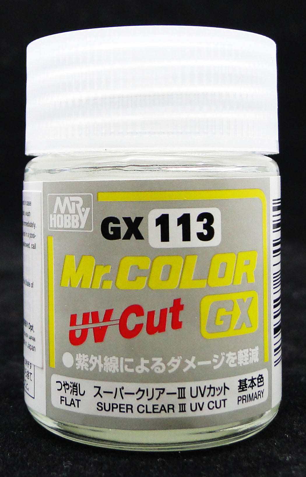 Mr. Hobby Mr. Color GX Super Clear III UV Cut Flat