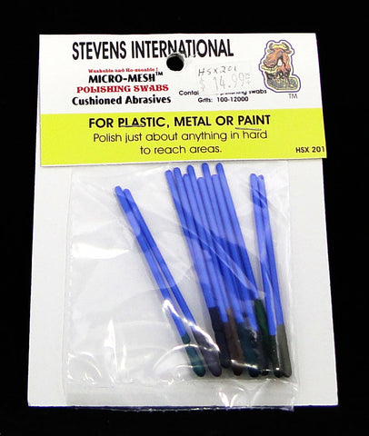 Stevens International Polishing Swabs