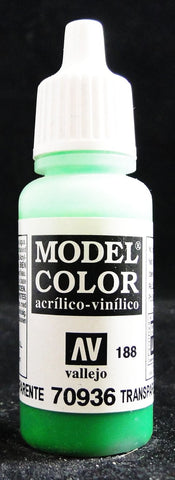 Vallejo Acrylic Model Color- Transparent Green