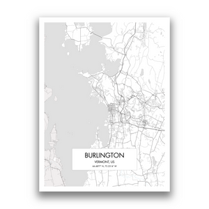 Map of Burlington