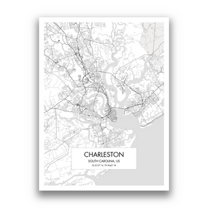 Map of Charleston