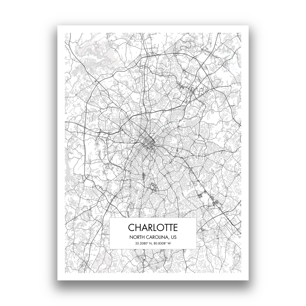 Map of Charlotte