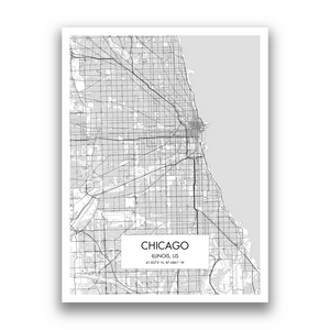 Map of Chicago