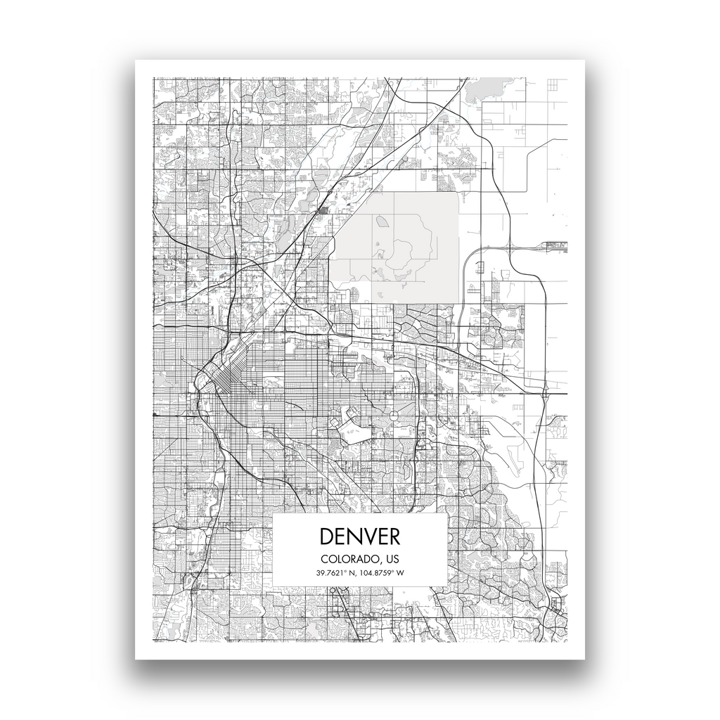 Map of Denver
