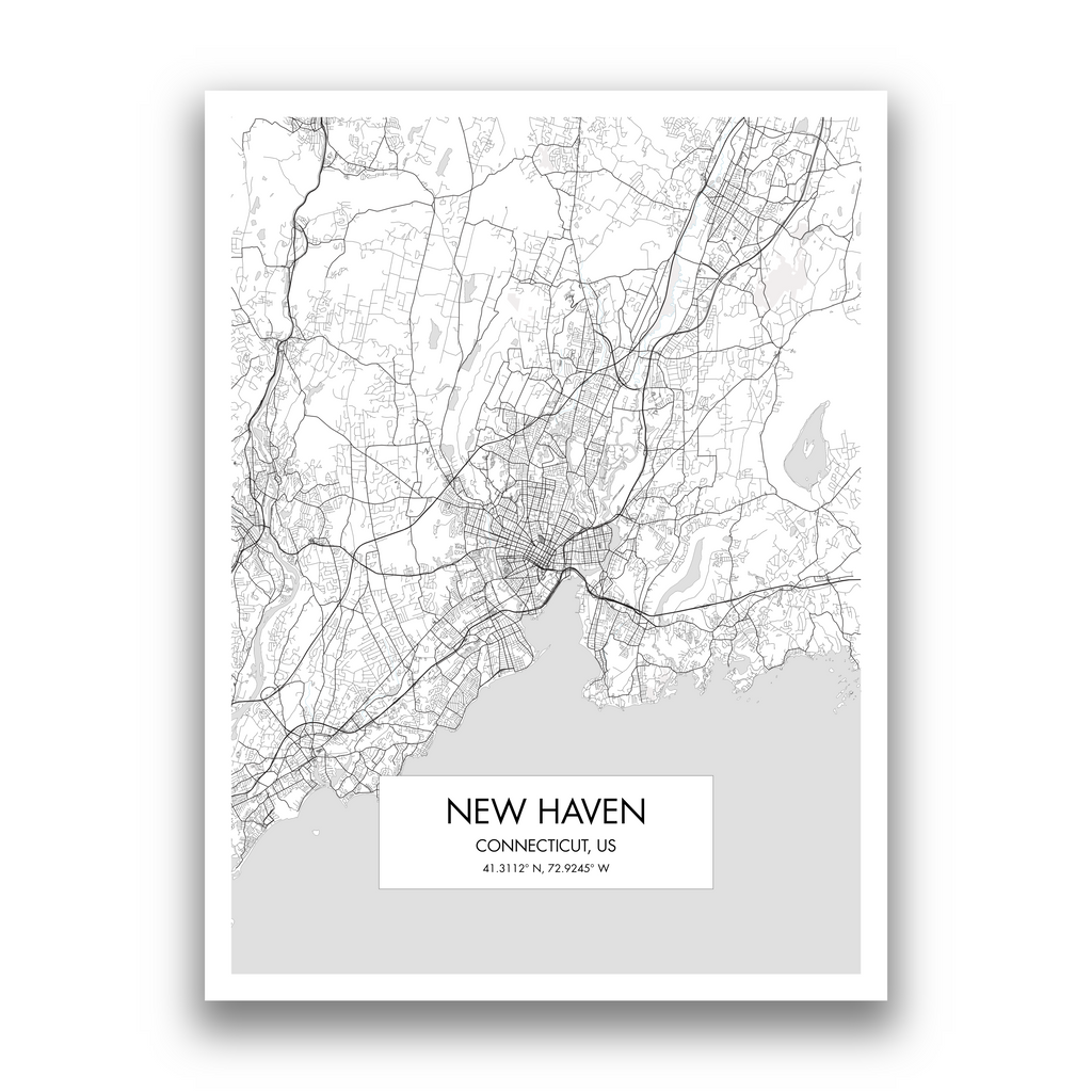 Map of New Haven