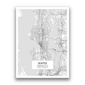 Map of Seattle
