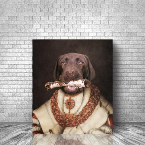 PAW READER - CUSTOM DOG CANVAS (Premium)