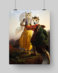 RUNAWAY LOVERS - MULTI-PET POSTER (Premium)