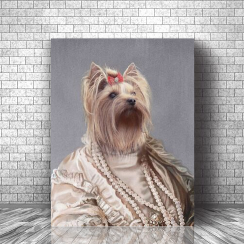 QUEEN - CUSTOM DOG CANVAS ( Premium)