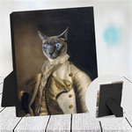 PRINCE ALEXANDER - CUSTOM CAT TABLETOP CANVAS (Premium)