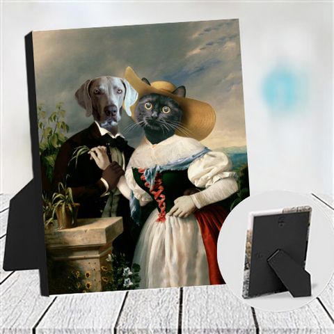LOVERS SERENADE - MULTI-PET TABLETOP CANVAS (Premium)