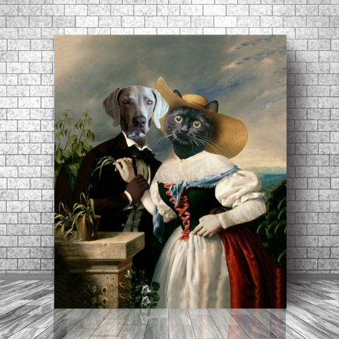 LOVERS SERENADE  - MULTI-PET CANVAS (Premium)