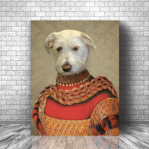 DUCHESS - CUSTOM DOG CANVAS (Premium)