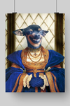 FAITHFUL LADY - CUSTOM DOG POSTER (Premium)
