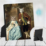 ROBIN AND MARIAN - MULTI-PET TABLETOP CANVAS (Premium)