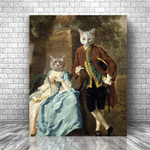ROBIN & MARIAN - MULTI-PET CANVAS (Premium)