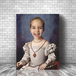 YOUNG LADY SABINE - CUSTOM KID CANVAS (Premium)