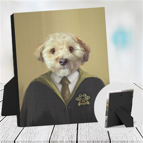 HUFFLEPEE - CUSTOM DOG TABLETOP CANVAS (Premium)