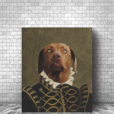 LORD ALFONSO - CUSTOM DOG CANVAS (Premium)
