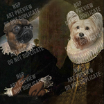 LORD WILLIAM & LADY SABINE - MULTI-PET DIGITAL ART PREVIEW