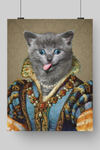 MAIDEN LADY - CUSTOM CAT POSTER (Premium)