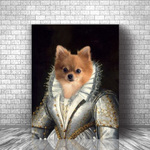 MADEMOISELLE - CUSTOM DOG CANVAS ( Premium)