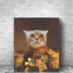THE ACE - CUSTOM CAT CANVAS (Premium)