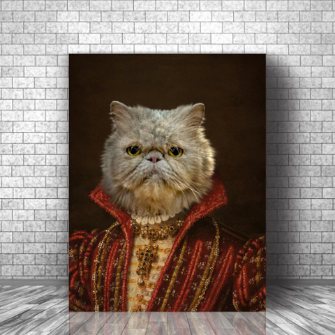 JACK OF PAWS - CUSTOM CAT CANVAS (Premium)