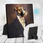 EARL - CUSTOM DOG TABLETOP CANVAS (Premium)