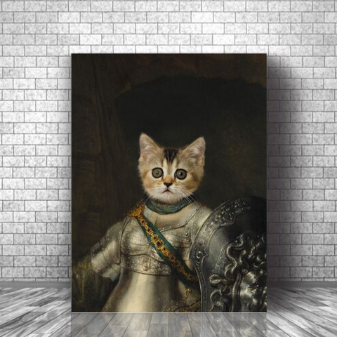 BELLONA - CUSTOM CAT CANVAS ( Premium)