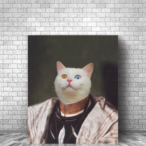 WISEPAW - CUSTOM CAT CANVAS (Premium)