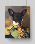 GENERAL OSBERT - CUSTOM DOG POSTER (Premium)