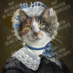 LADY PURRINGGALE - CUSTOM DIGITAL ART PREVIEW