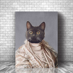 QUEEN - CUSTOM CAT CANVAS ( Premium)