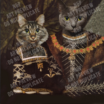 JACK AND HERMIONE - MULTI-PET DIGITAL ART PREVIEW