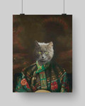 CROWN PRINCESS - CUSTOM CAT POSTER (Premium)