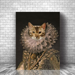 LADY CATORIA BRIGHT - CUSTOM CAT CANVAS ( Premium)