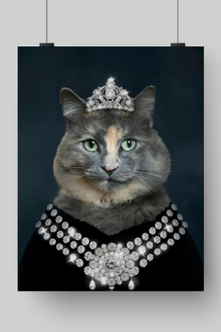 DIAMOND QUEEN - CUSTOM CAT POSTER (Premium)