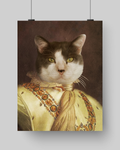 THE ADVENTURER- CUSTOM CAT POSTER (Premium)
