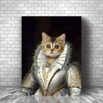 MADEMOISELLE - CUSTOM CAT CANVAS ( Premium)