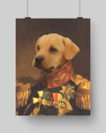 THE ACE - CUSTOM DOG POSTER (Premium)