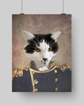 NAVY - CUSTOM CAT POSTER (Premium)