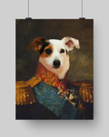 SPANISH GENERAL - CUSTOM DOG POSTER (Premium)