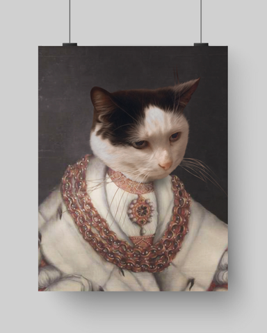 PAW READER - CUSTOM CAT POSTER (Premium)