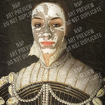 LADY MARGARET - PEOPLE CUSTOM DIGITAL ART PREVIEW