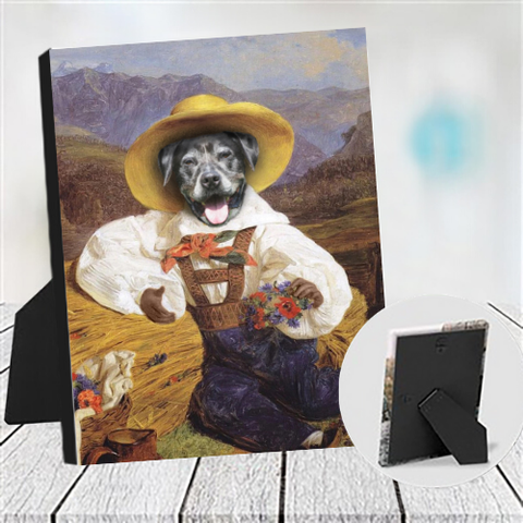 BERRY - CUSTOM DOG TABLETOP CANVAS (Premium)