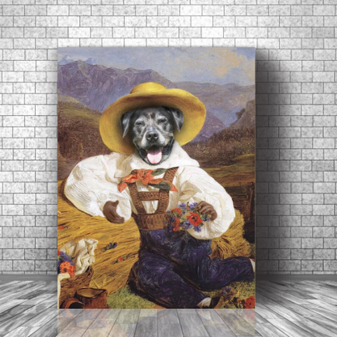 BERRY - CUSTOM DOG CANVAS (Premium)